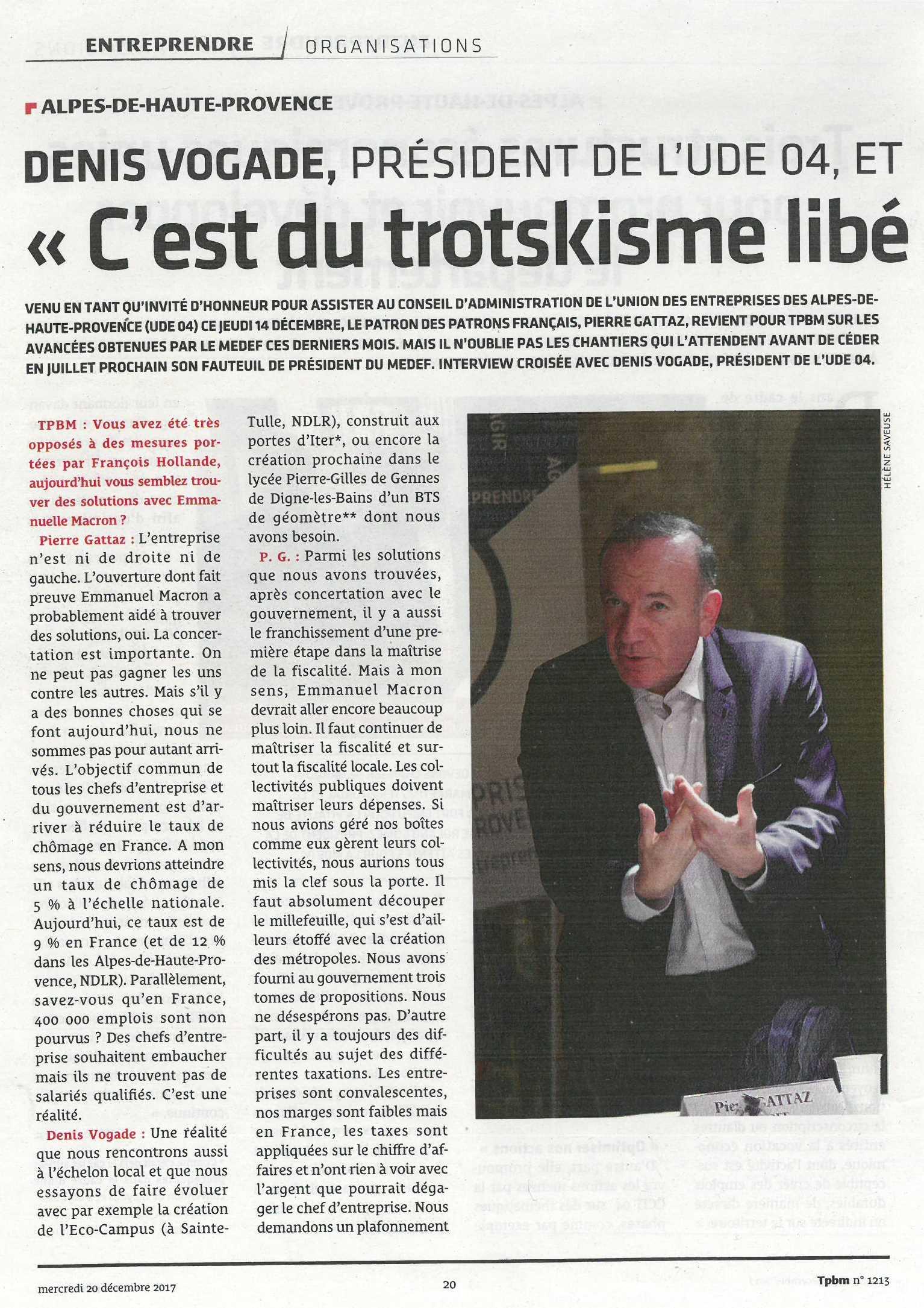Interview Pierre Gattaz