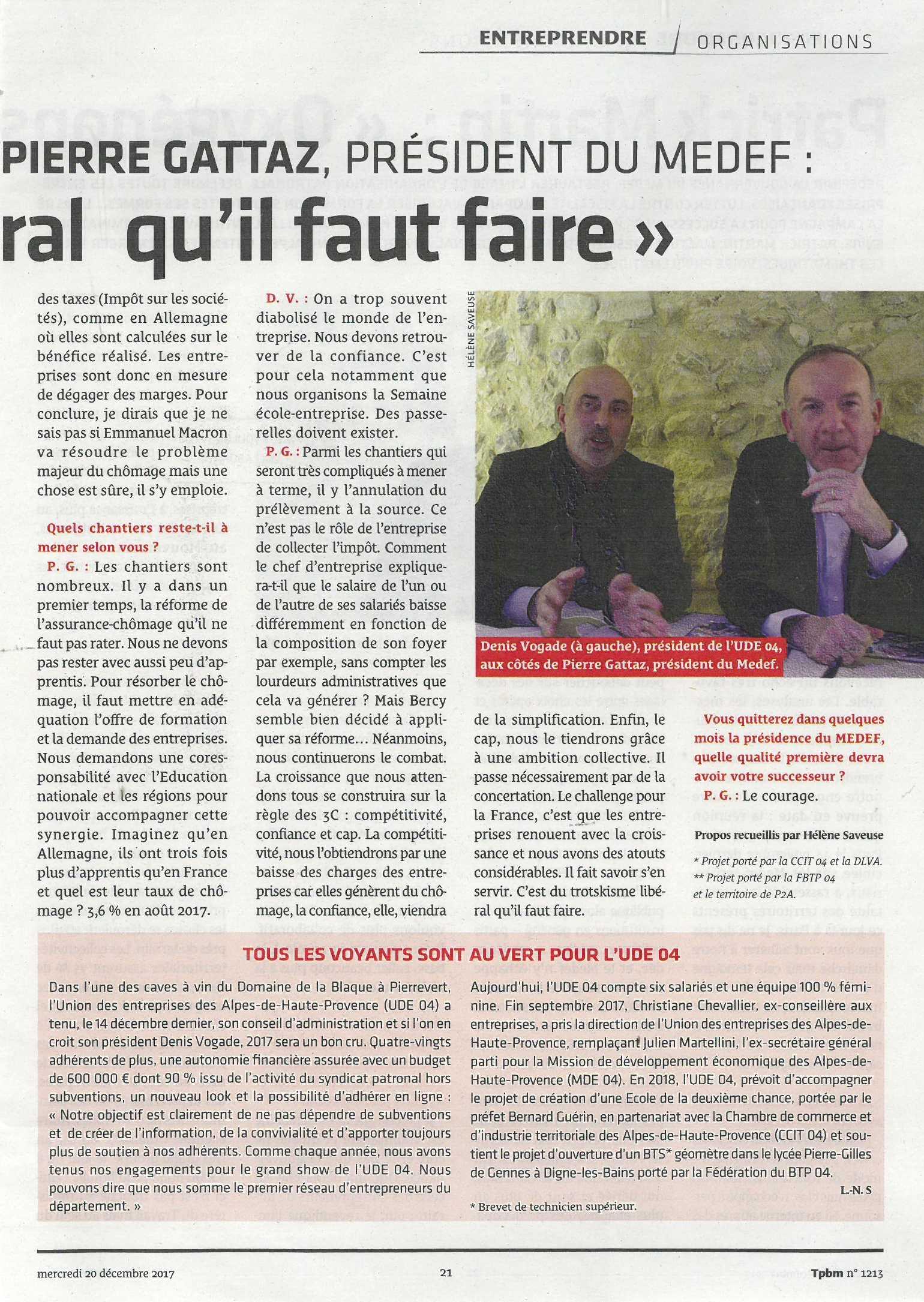 Interview Pierre Gattaz 2