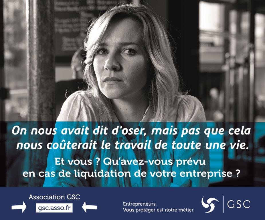 La GSC est l'assurance perte d'emploi des entrepreneurs