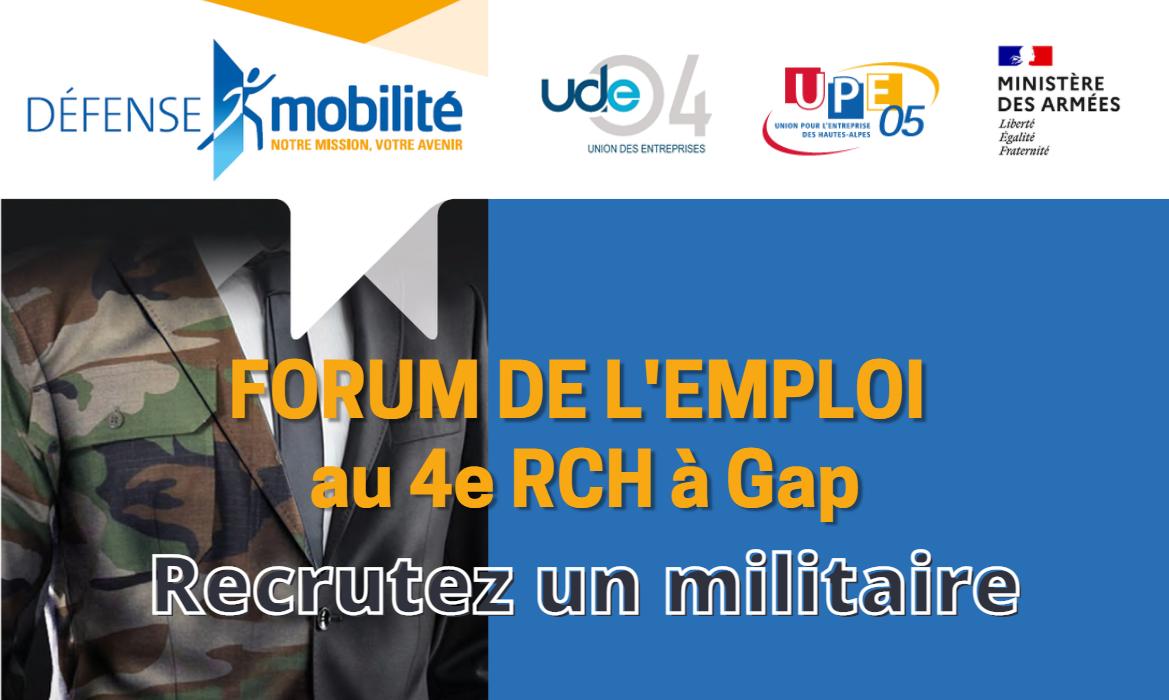 visuel forum emploi militaire