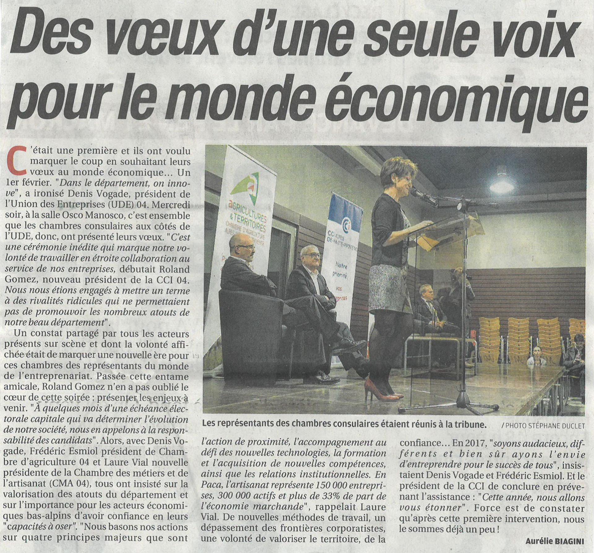 Revue de presse UDE 04