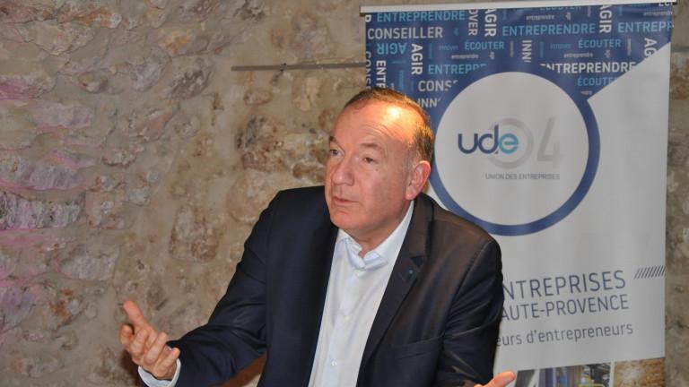 Pierre Gattaz au conseil d'administration de l'UDE 04