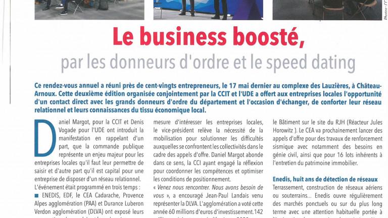 Booste ton Business - ENJEUX