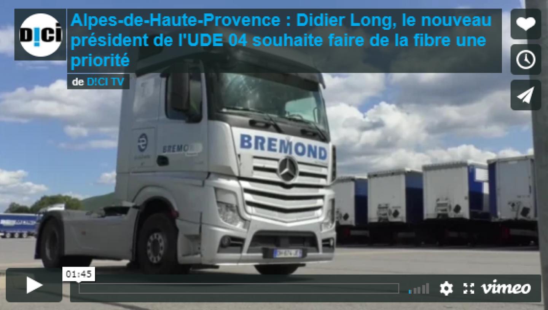 DICI TV_ITW Didier Long nouveau president UDE 04