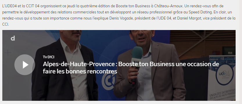 ReportageDICITV_Booste ton business
