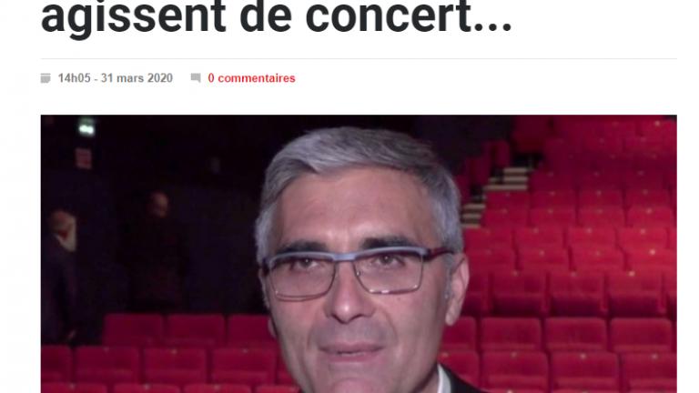 Entreprises et COVID-19 : UDE, CCIT, Chambre régionale d'Artisanat, agissent de concert