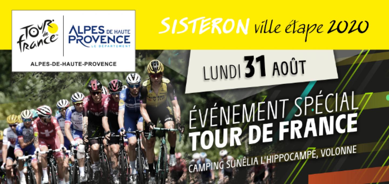 bandeau inscriptions Tour de France