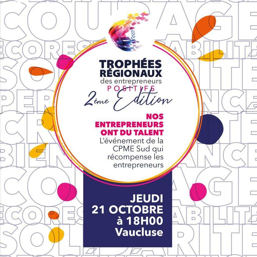 Save the date - Trophees des Entrepreneurs positifs
