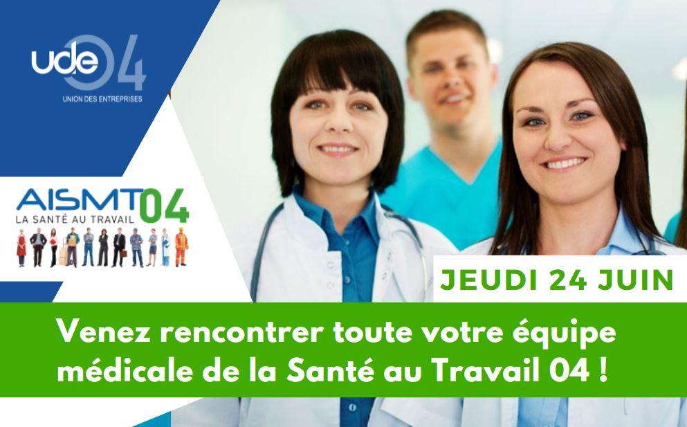 Les services de la Santé au Travail 04