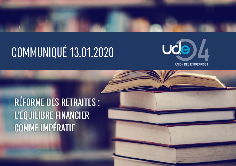 COMMUNIQUE RETRAITE UDE 04