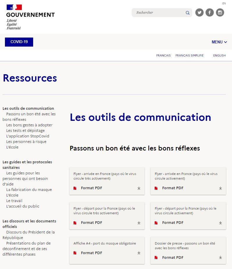 docs communication covid 19