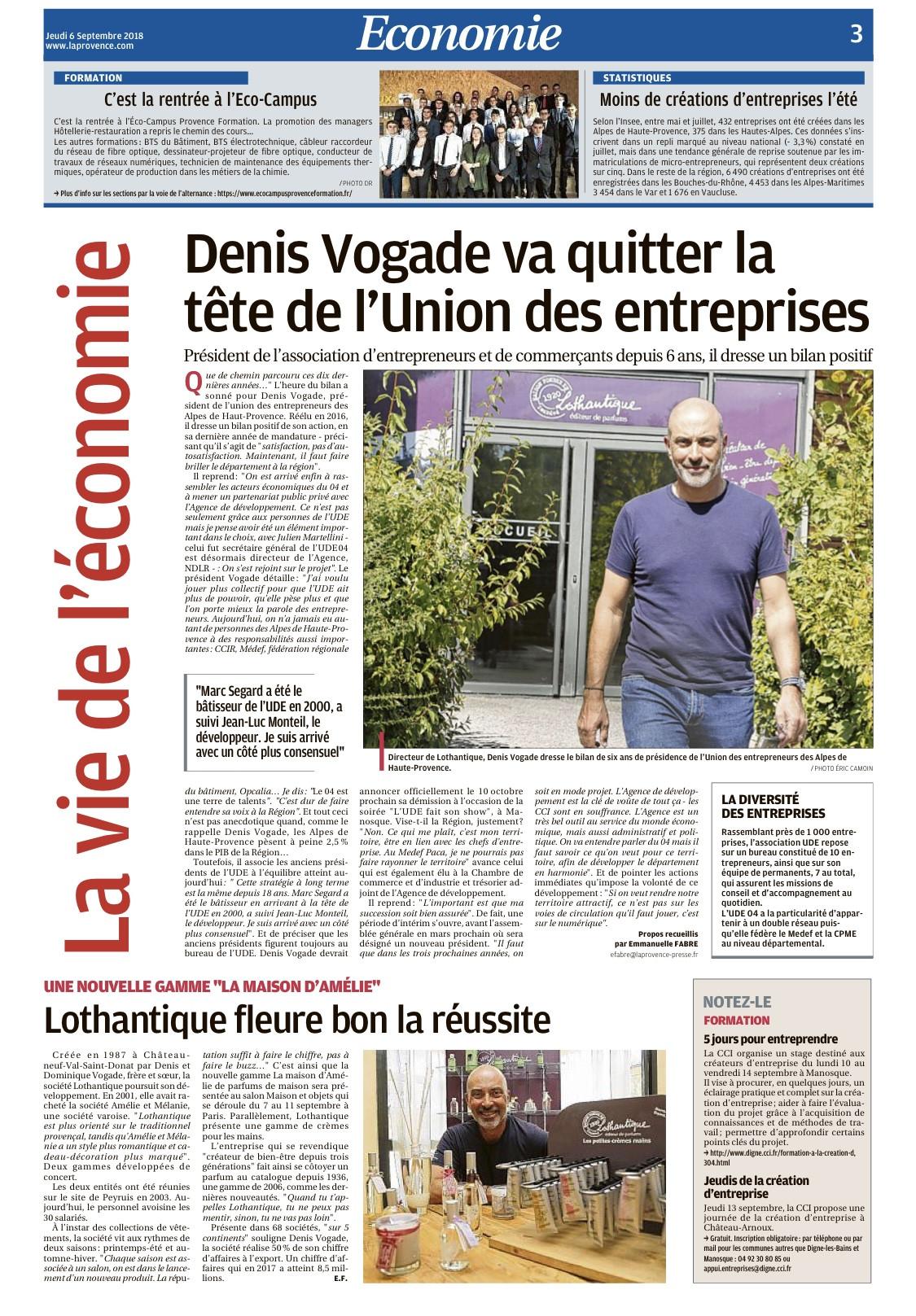 Portrait Denis - La Provence 0609