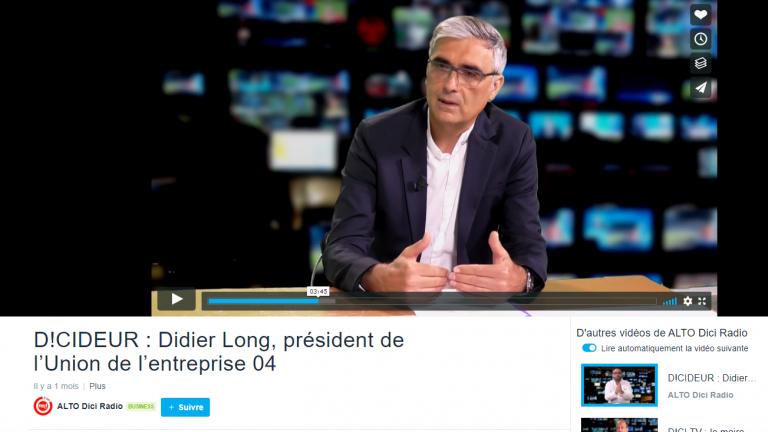 DICIDEUR : interview Didier Long