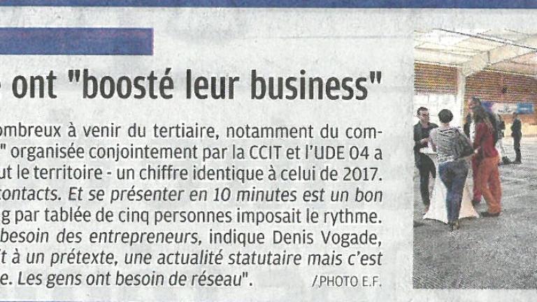 BOOSTE TON BUSINESS_LA PROVENCE 18 MAI