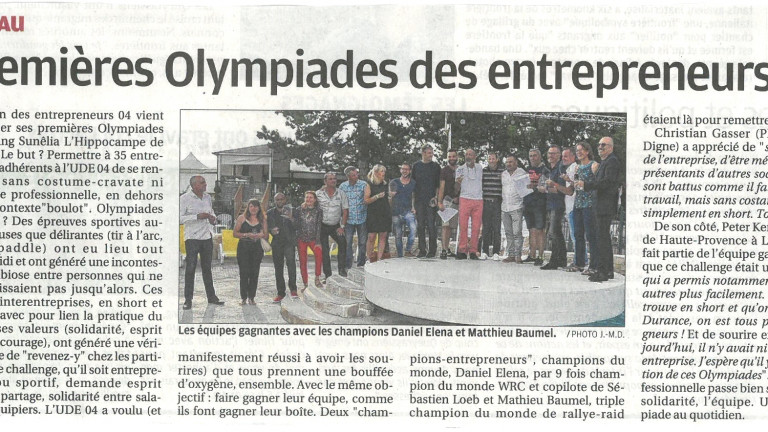 olympiades la provence